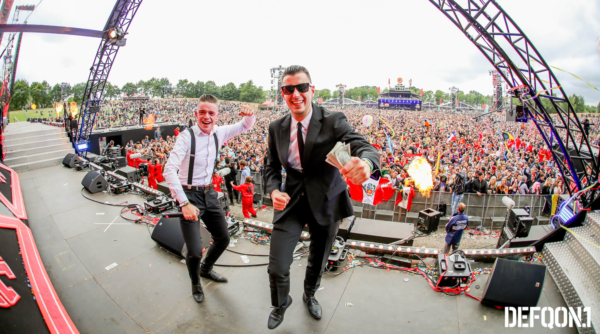 Ransom live on stage at Defqon.1